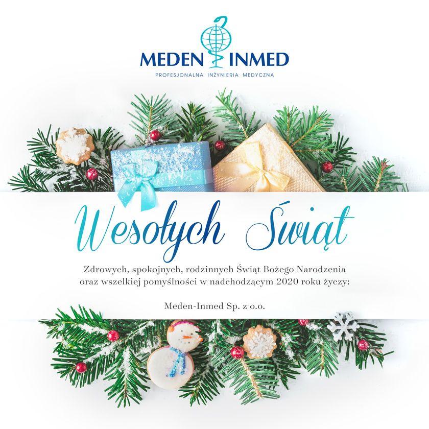 Meden-Inmed życzy Wesołych Świąt