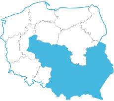 Mapa zasięgu 567