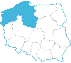 Agnieszka Partyka - mapa zasięgu