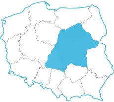 Paulina Dziedzic - mapa zasięgu