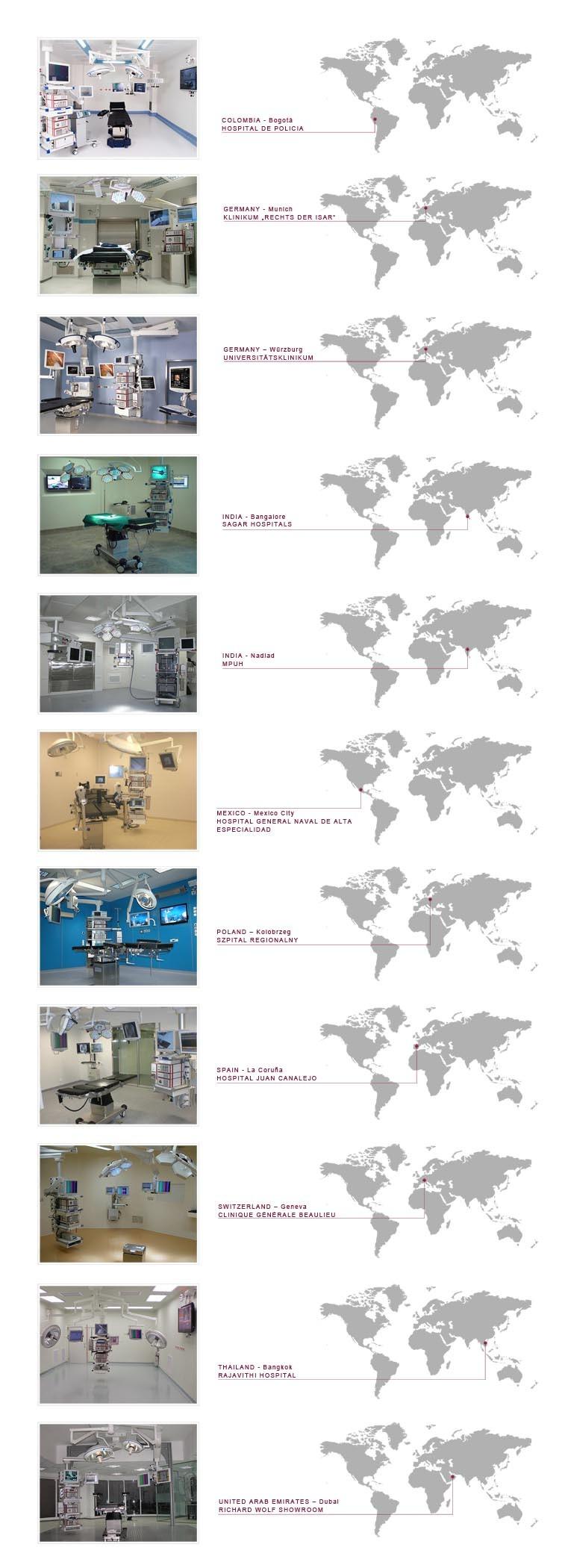 Zintegrowana sala operacyjna CORE Meden-Inmed