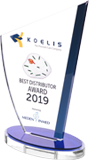 Koelis Best Distributor Award 2019