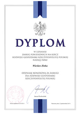 Honorowa odznaka za zasługi dla rozwoju gospodarki RP