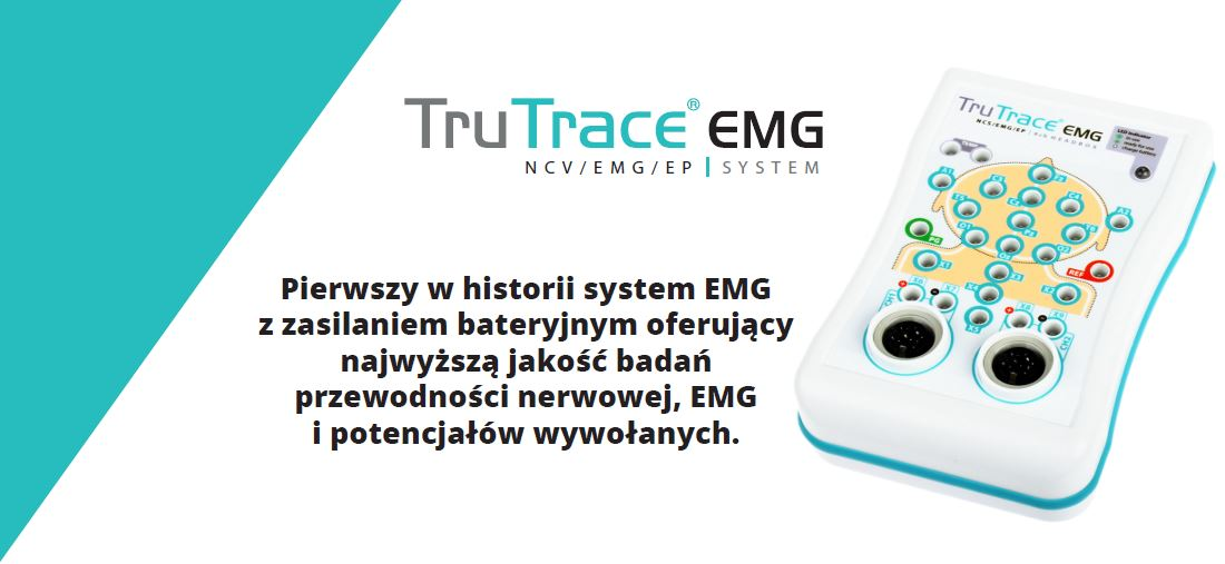 system neuroterapii do badan TruTrace EMG
