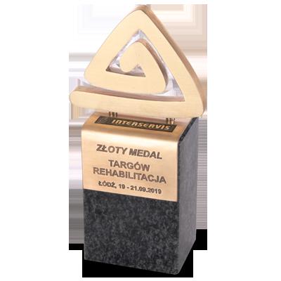 Złoty Medal Targów REHABILITACJA 2019