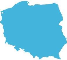 Michał Polański - mapa zasięgu