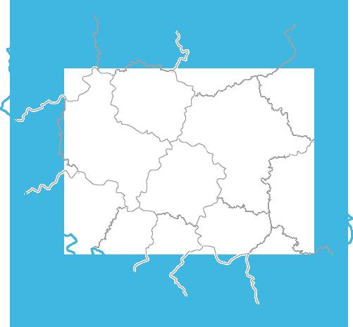 Mapa przedstawicieli Meden-Inmed