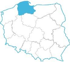 Mapa zasięgu 8