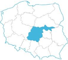 Mapa zasięgu 9