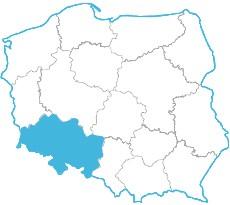Jerzy Bartodziej - mapa zasięgu