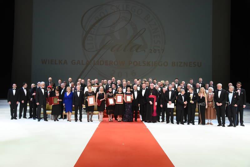 Goście i laureaci Wielkiej Gali Liderów Polskiego Biznesu, fot. Cezary Piwowarski