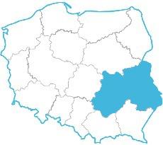 Iga Karolewska - mapa zasięgu