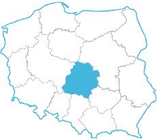 Marek Pijewski - mapa zasięgu