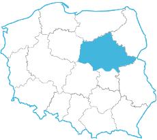 Karina Kucharczyk - mapa zasięgu