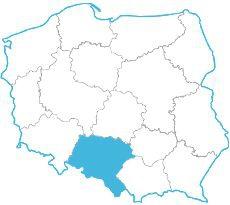 Piotr Porosiński - mapa zasięgu