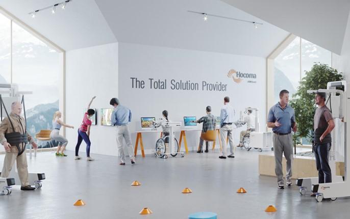 rehabilitacja robotami locomat