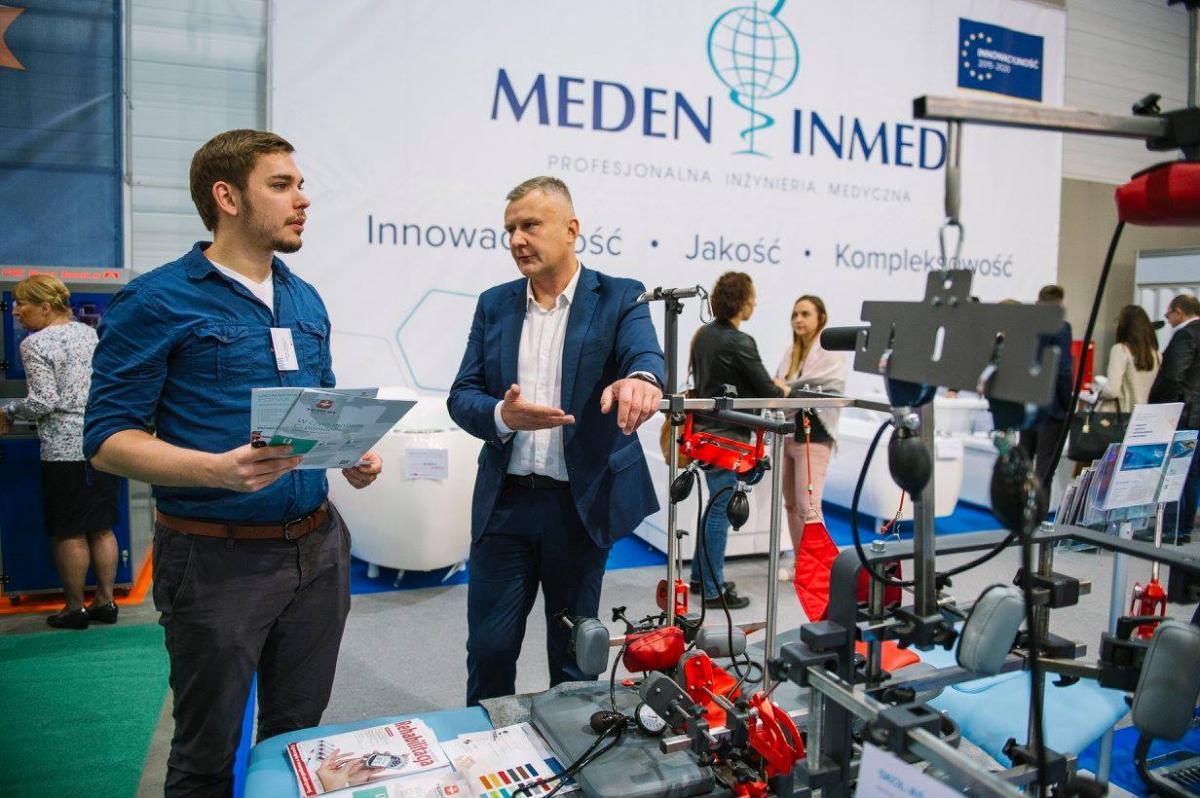 prezentacja sprzętu Meden-Inmed targi Łódź